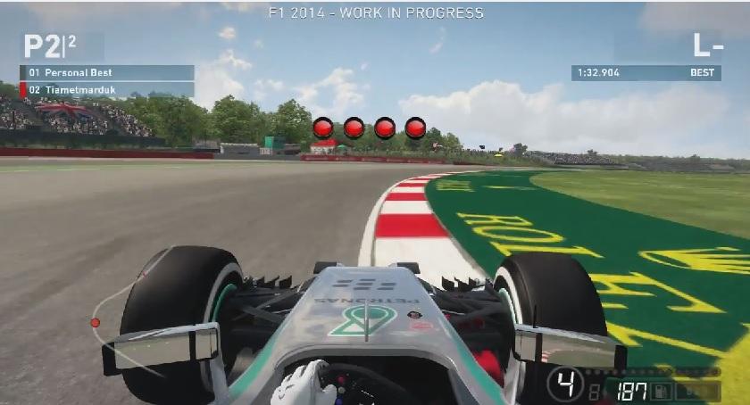 F1 2014: Száguldás a játékban, a virtuális Silverstone-ban