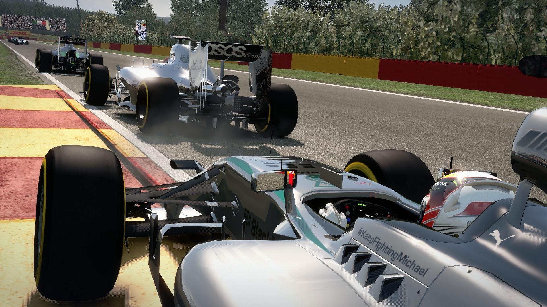 F1 2014: Ilyen a legújabb F1-es játék