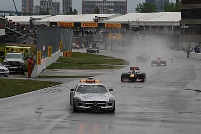 Des risques de pluie pour le GP du Canada