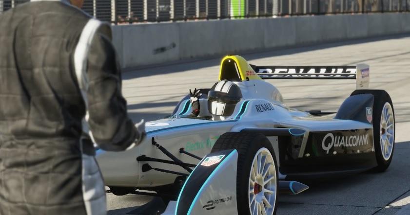 Ilyen a Formula E versenygép a Forza 5-ben