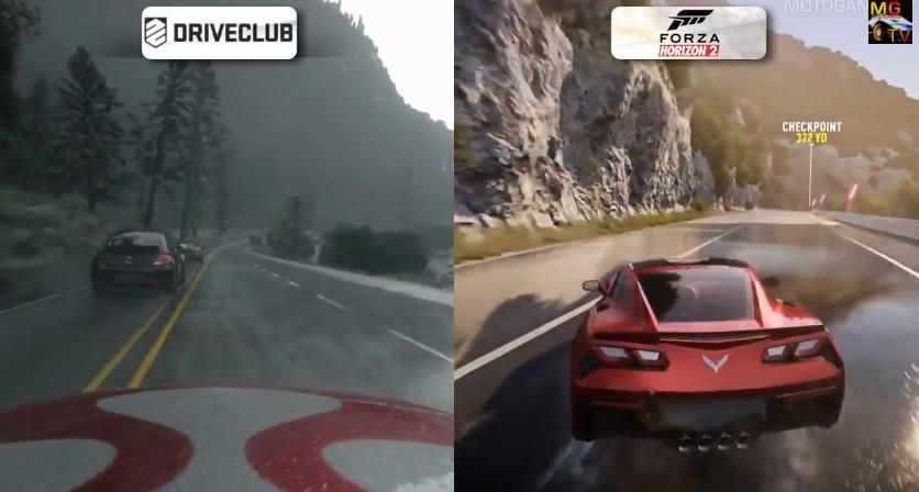 DriveClub Vs. Forza Horizon 2: Egymás ellen a két next-gen game