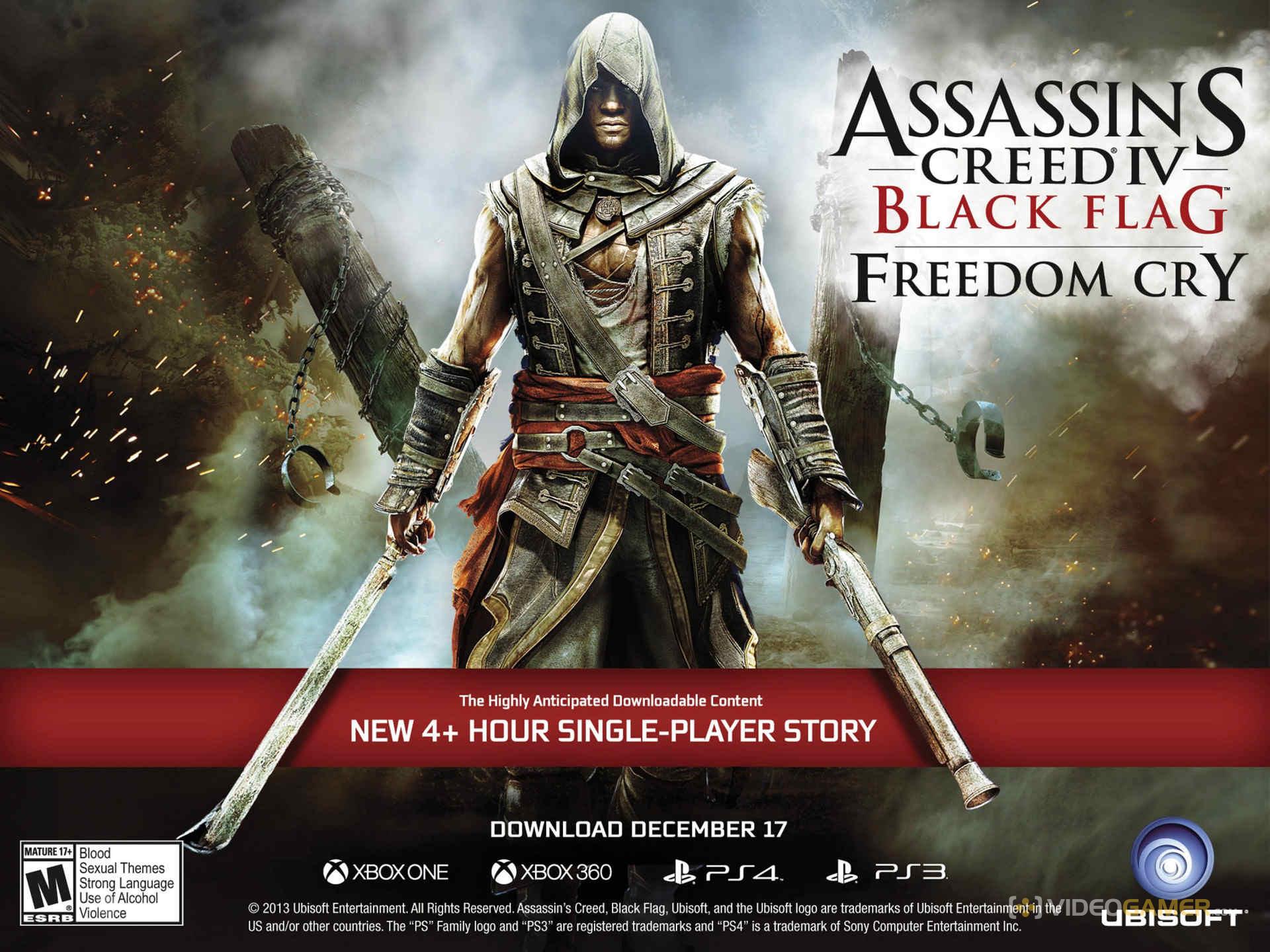 Assassin's Creed Freedom Cry: Mozgásban a játék