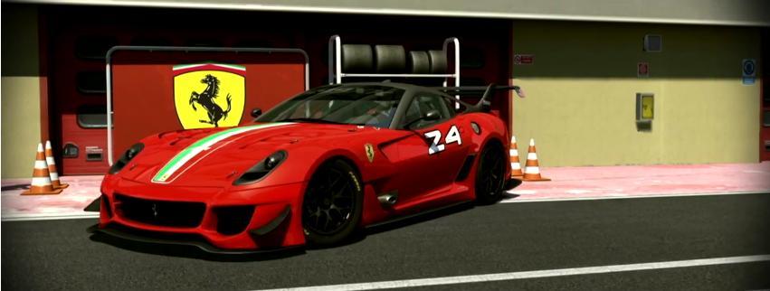Assetto Corsa: A szenzációs Ferrari 599XX EVO