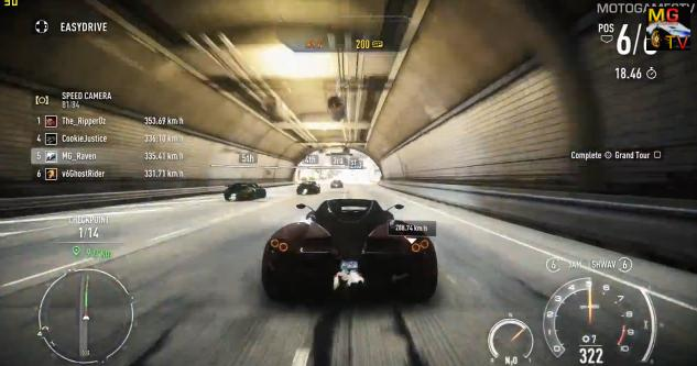 Need for Speed: Rivals - Pagani Huayra a játékban