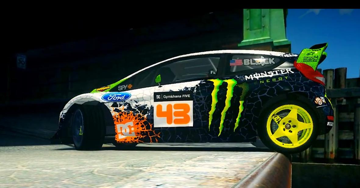 Grand Theft Auto: Ken Block sírva fakadna