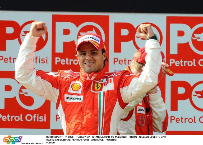8 éve ezen a napon az F1-ben: Massa győzelme Hamilton és Raikkönen előtt