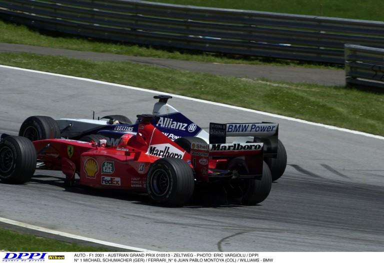 15 éve ezen a napon: Schumacher és Montoya incidense az A1-Ringen