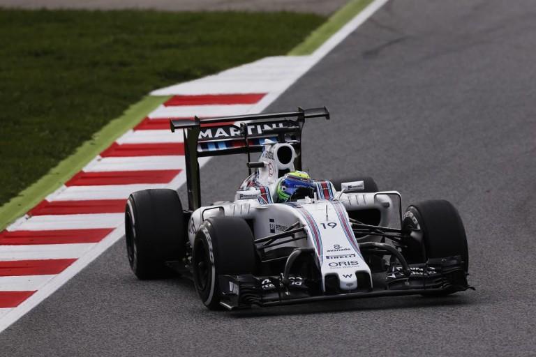 A gigaszárnytól nem lesz gyorsabb a Williams FW38
