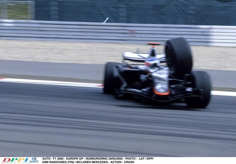 11 éve, hogy Raikkönen drámai körülmények között elbukta a győzelmet a McLarennel