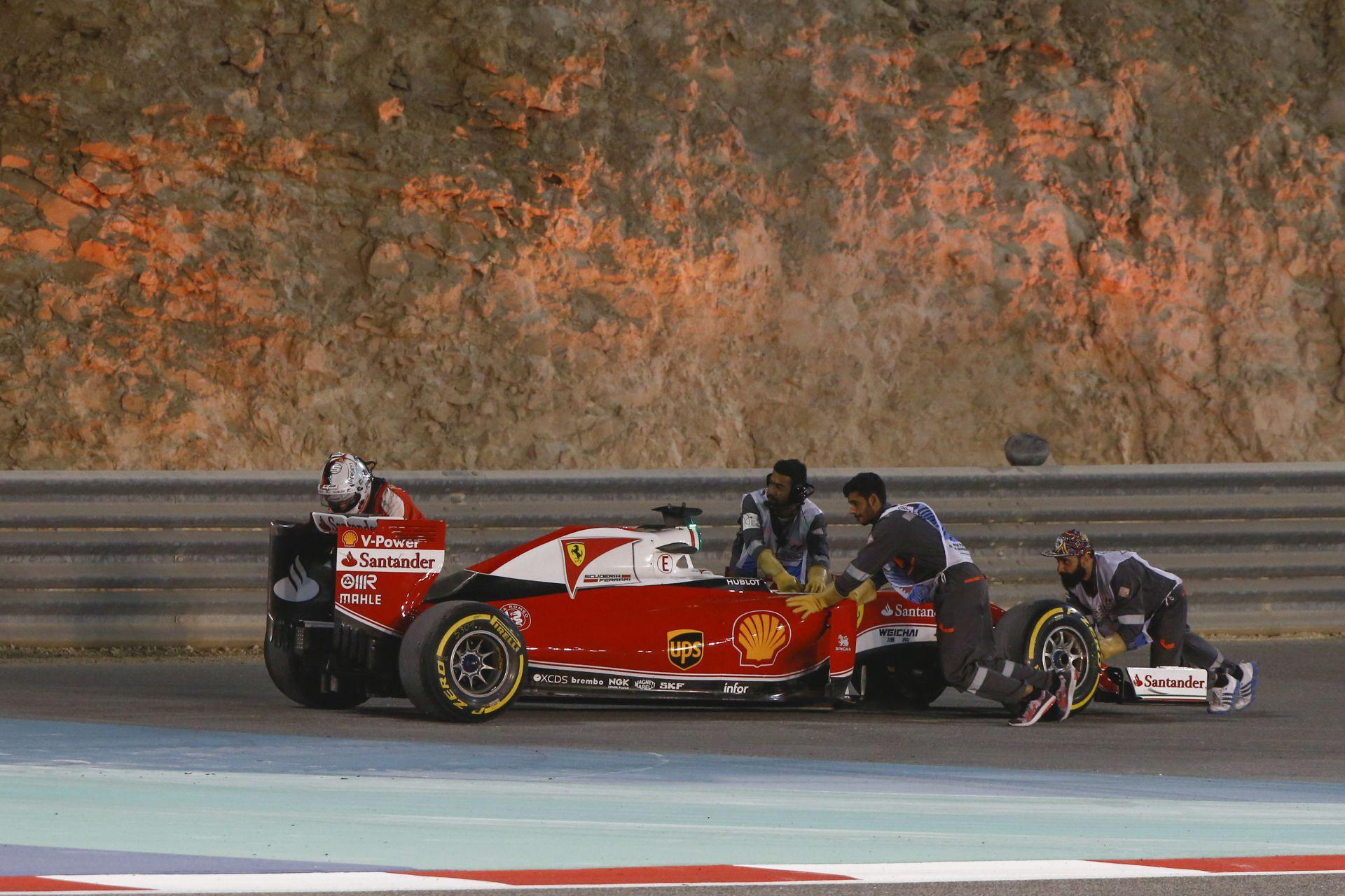 Vettel drámája a Bahreini Nagydíjon: videó