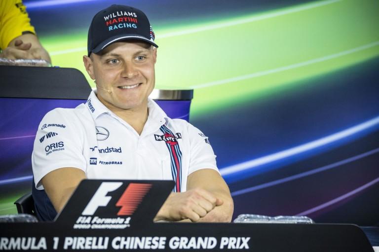 Bottas tesztelheti a Williams új első szárnyát Kínában