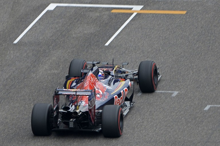 A Toro Rosso majdnem a Mercedest is bedarálta Kínában