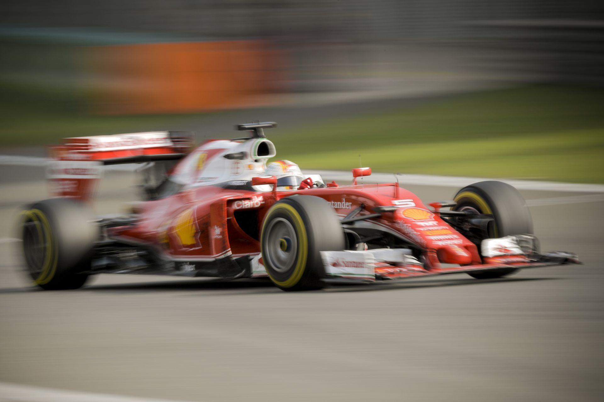 Vettel reméli, hogy az Orosz Nagydíj végre sima menet lesz a Ferrarinál!
