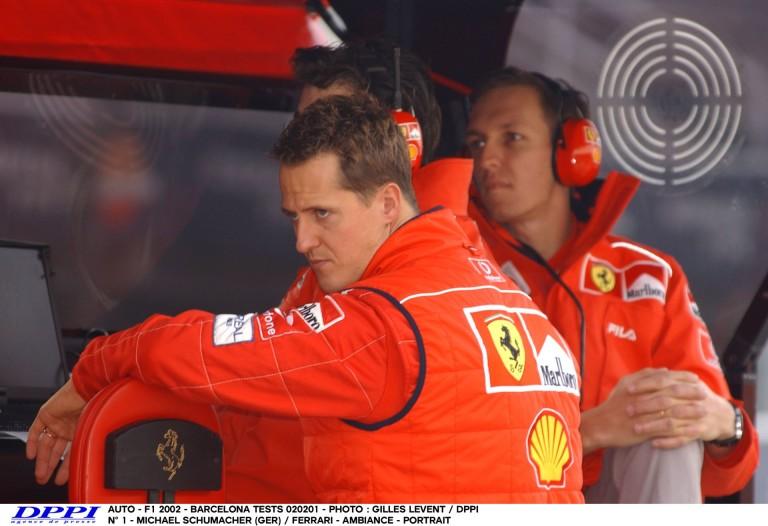 Naná, hogy Schumacher-és Ferrari-győzelem a Forma-1-ben