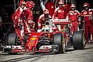 Vettel délután legalább nem csúszkált... nem volt mivel!