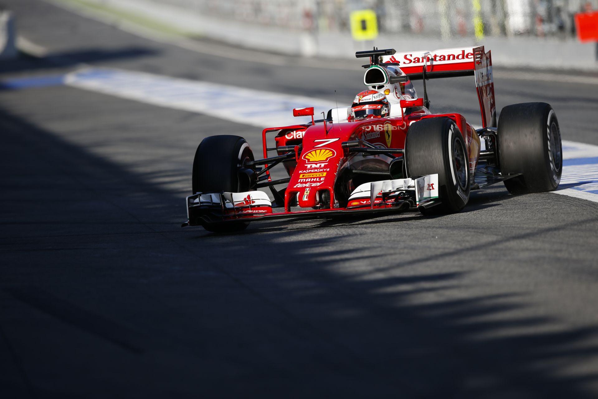 Folytatódik a tesztelés a Forma-1-ben: Raikkönen, Alonso és Hamilton is a pályán
