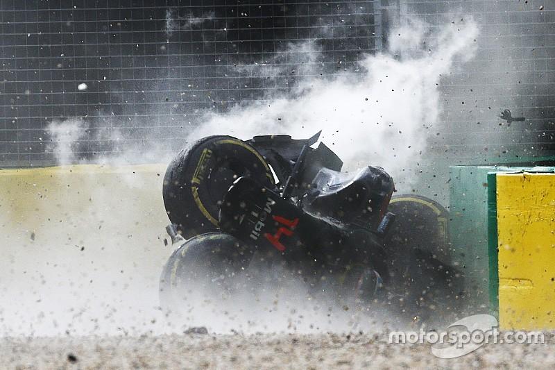 Alonso kreeg 46G te verwerken tijdens crash in Melbourne