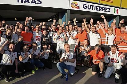 """A Haas Racingnek """"vastag bőr van a képén"""", így nem is aggódik a riválisok miatt!"""
