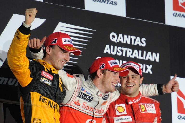 Button első győzelme a McLarennel, már Ausztráliában