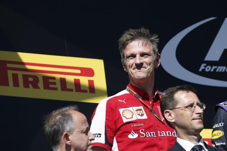 James Allison felesége halála miatt egyelőre nem tud a Ferrarival foglalkozni