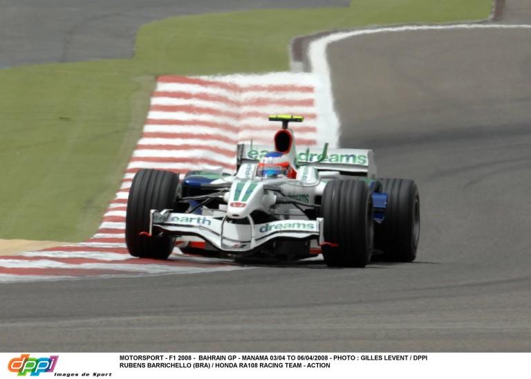A gyári Honda utolsó fellépése Bahreinben: Barrichello onboard