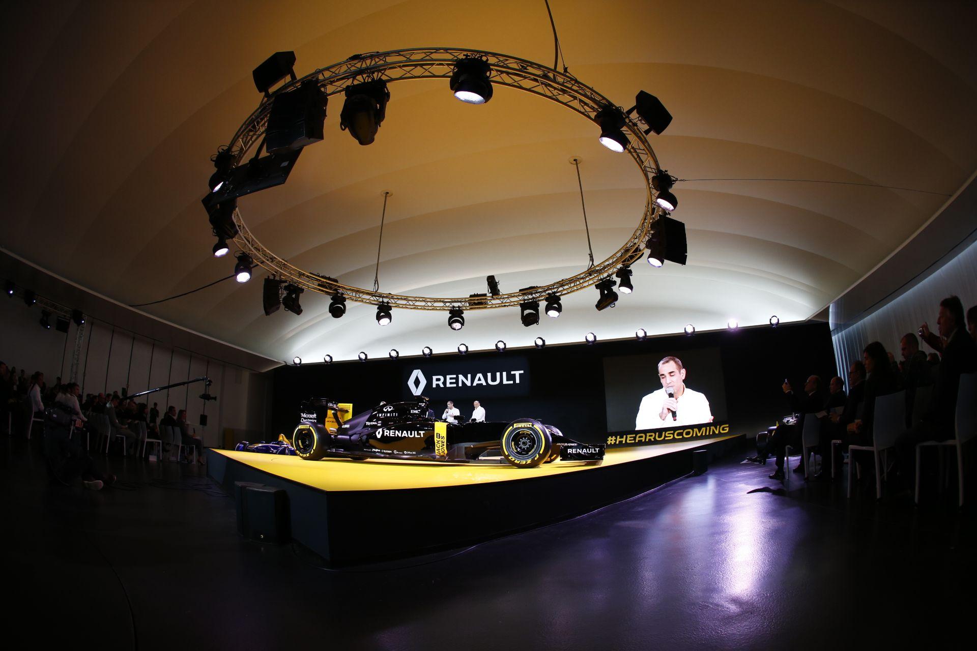 Fotókon a Renault szerdai prezentációja