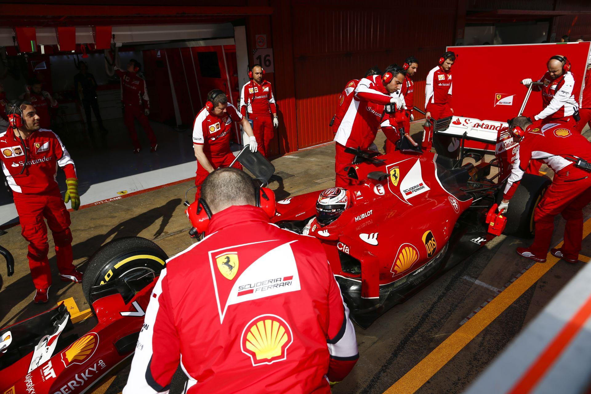 Már most nagyon versenyképesnek tűnik a 2016-os F1-es Ferrari