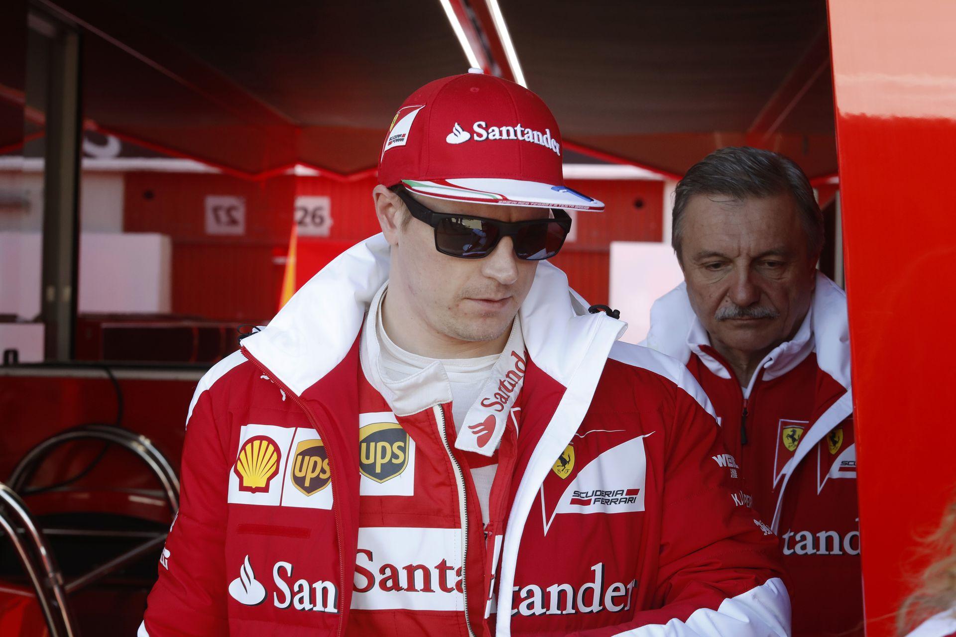 Raikkönent nem érdekli a kevés kilométer, mert gyors a Ferrari