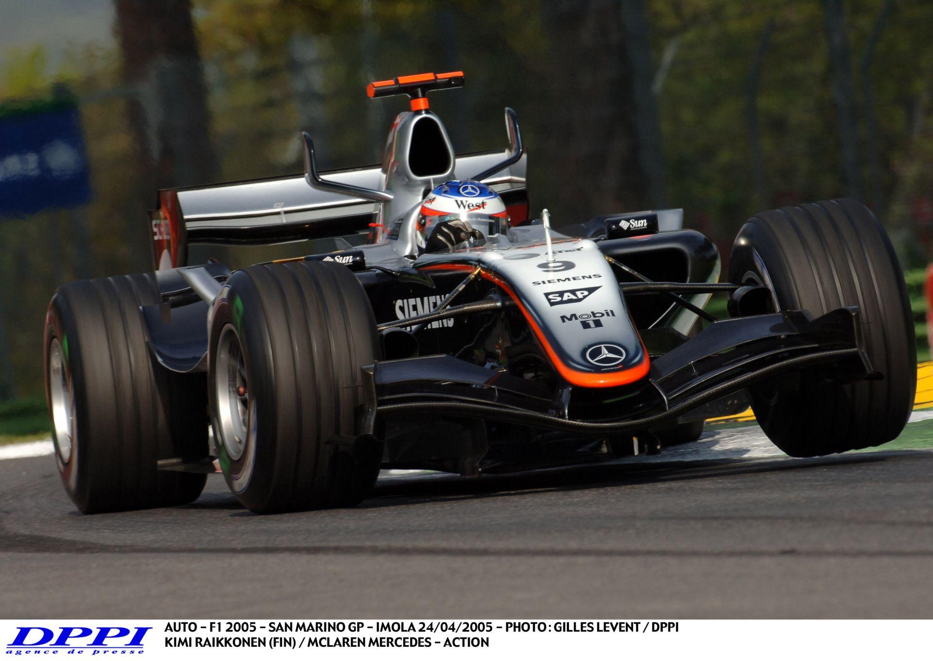 Raikkonen Vs. Schumacher Vs. Alonso: 2005, San Marino