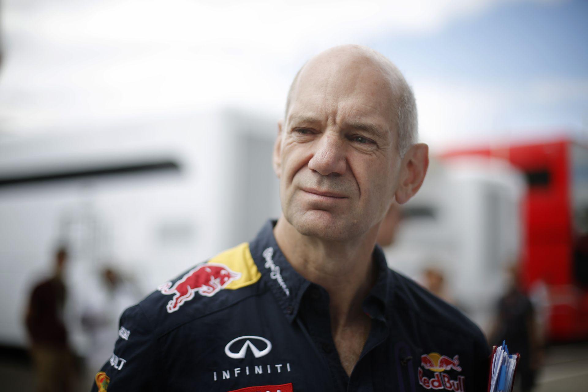 A Red Bull zsenijének kicsit el kellett szabadulnia a Forma-1-től