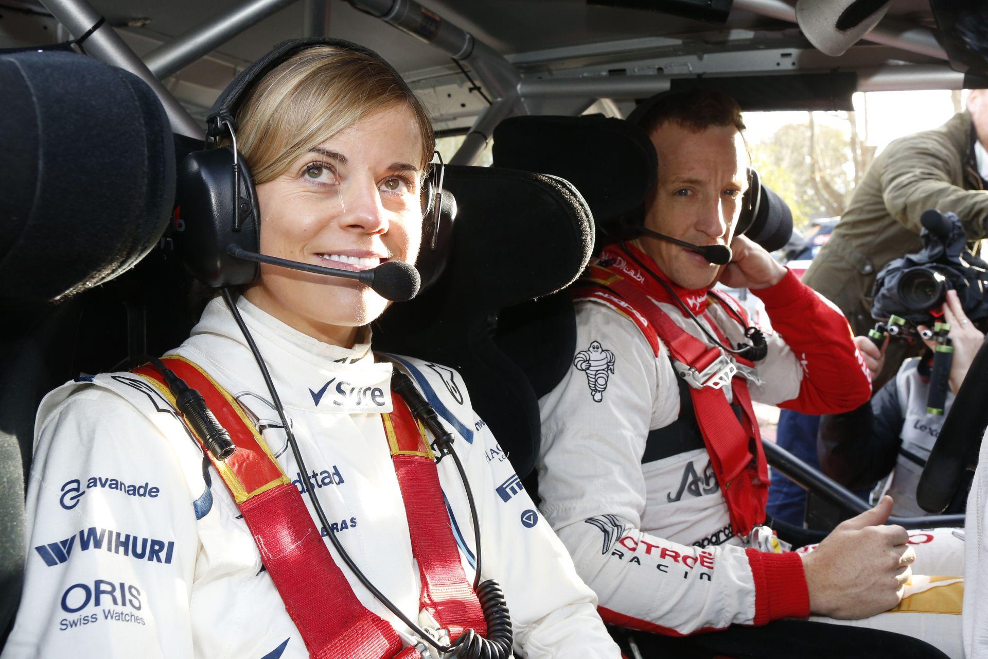 Susie Wolff nem áll rá arra, hogy valahonnan női Forma-1-es pilótát kerítsen!