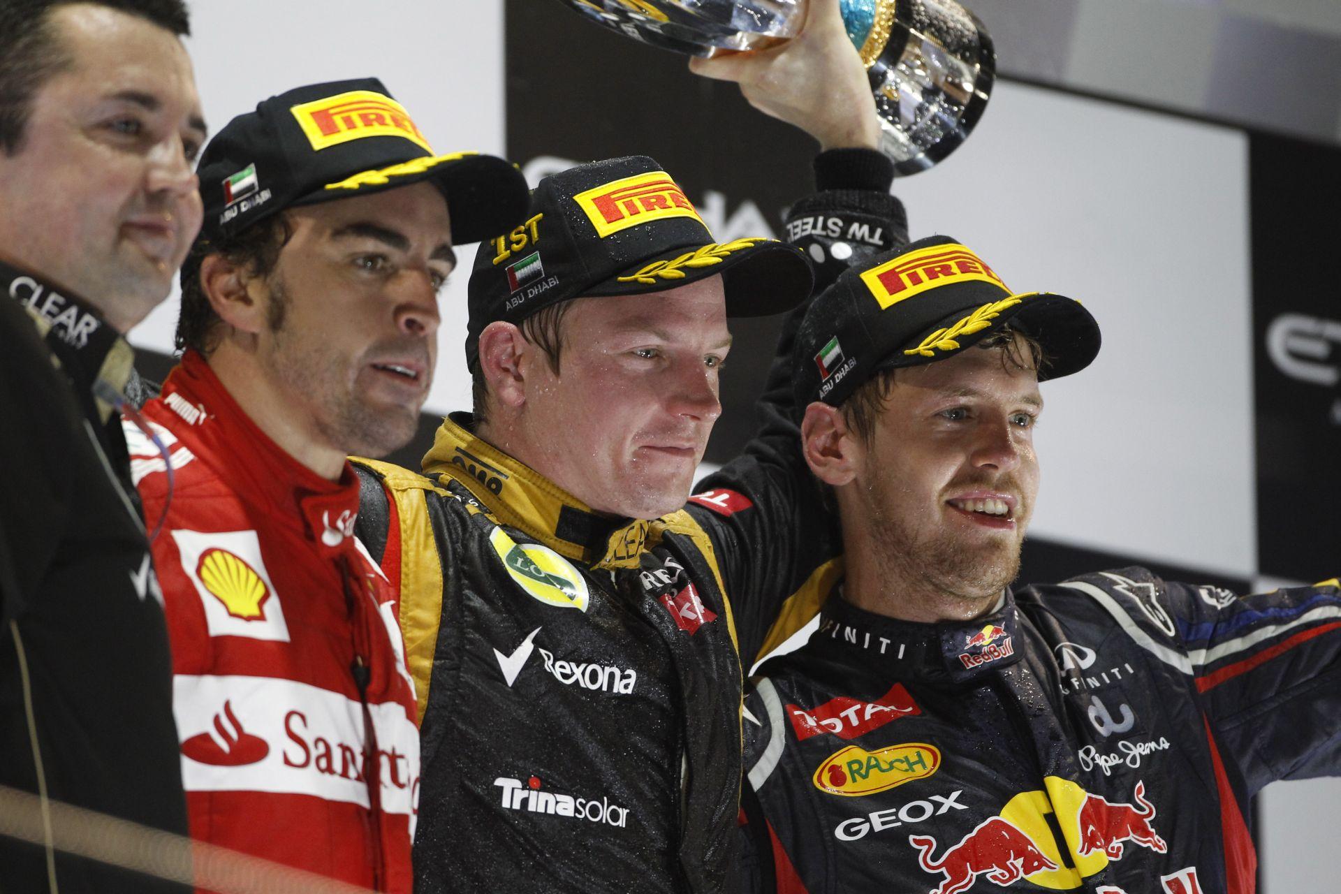 Nagy nap Raikkönen rajongóinak: győzelem Abu Dhabiban