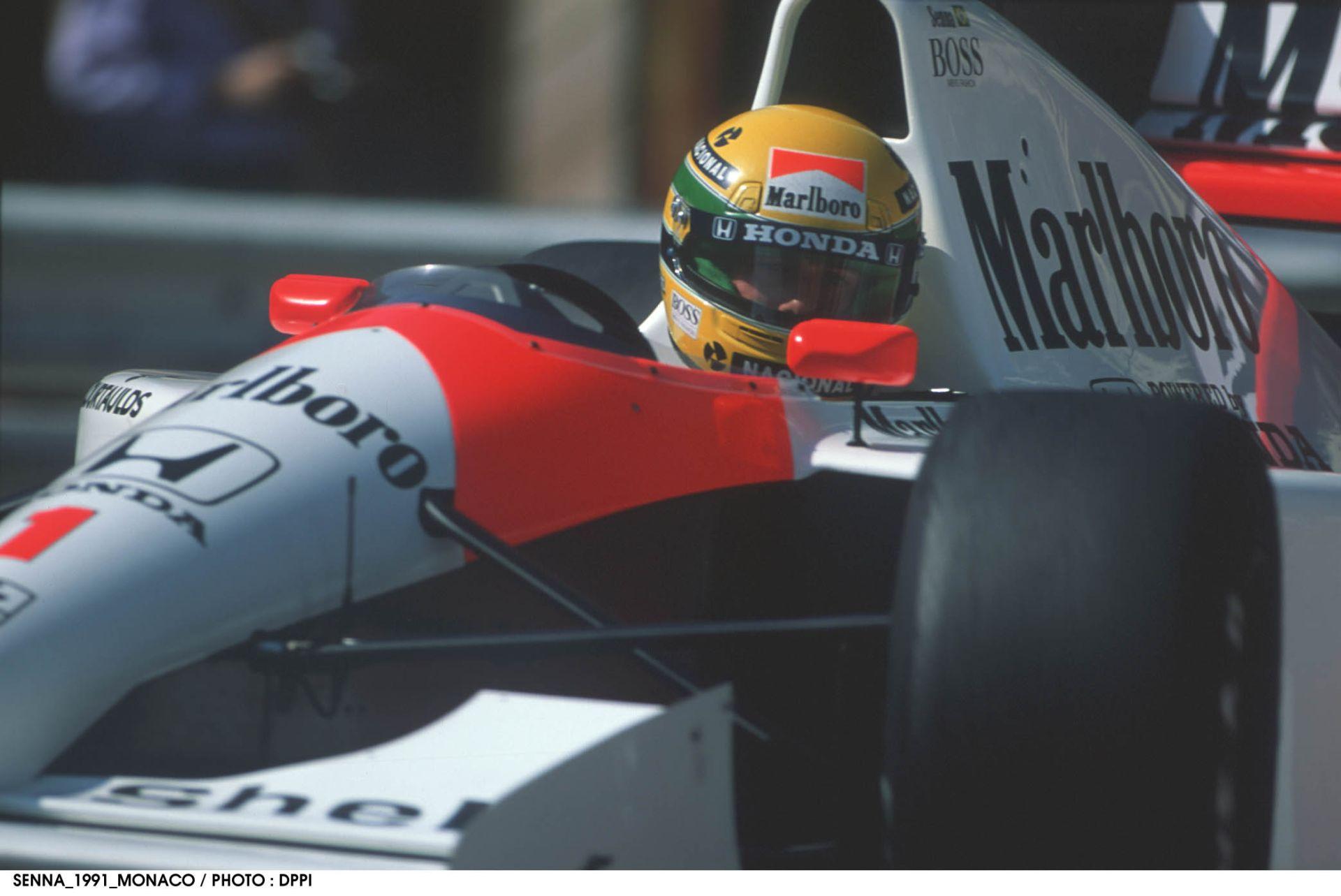 Így kell közvetíteni a Forma-1-et: Senna rajtelsősége 1991-ből Interlagosban