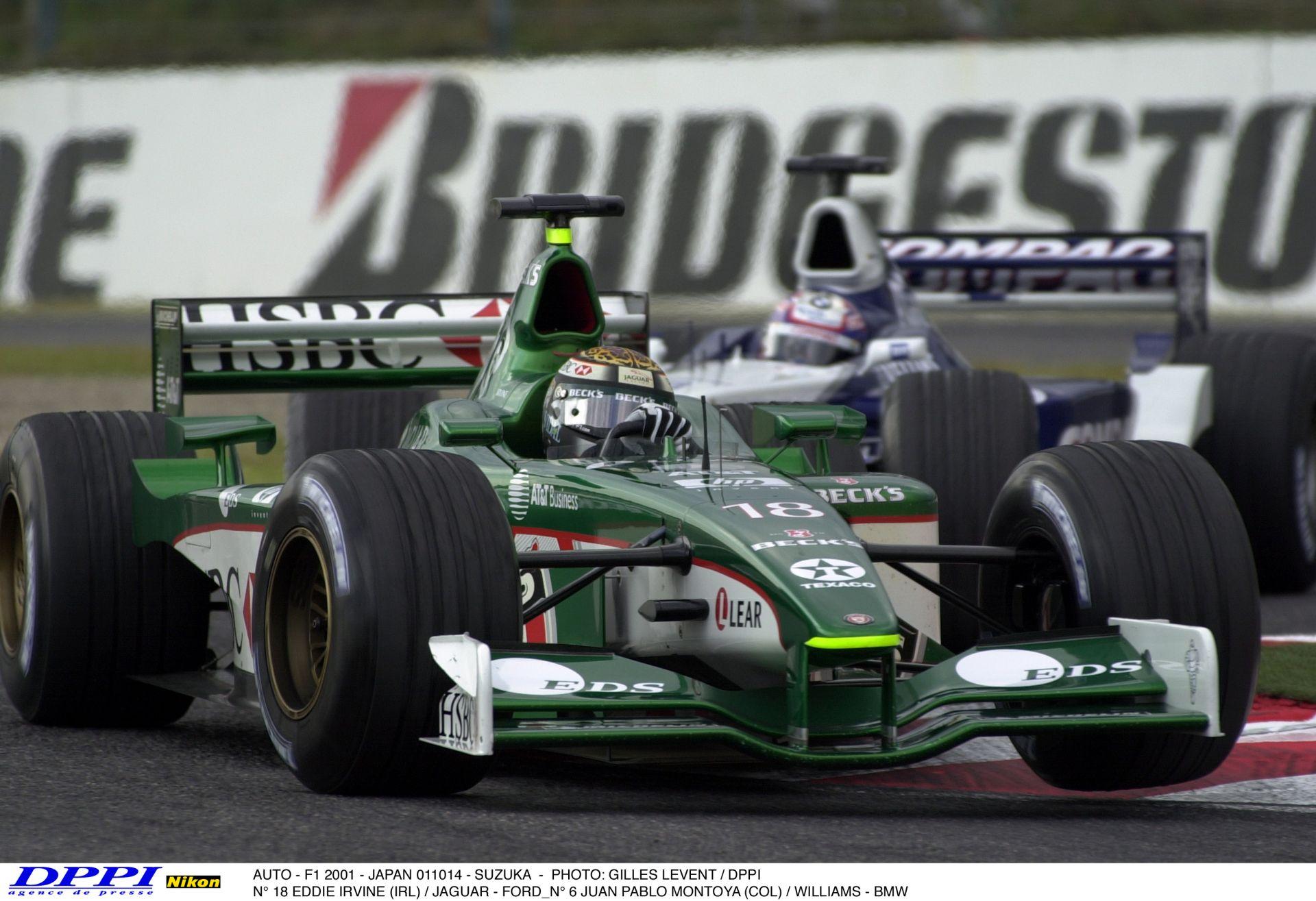 Amit biztosan imádni fogsz: Irvine a V10-es Jaguarral Brazíliában