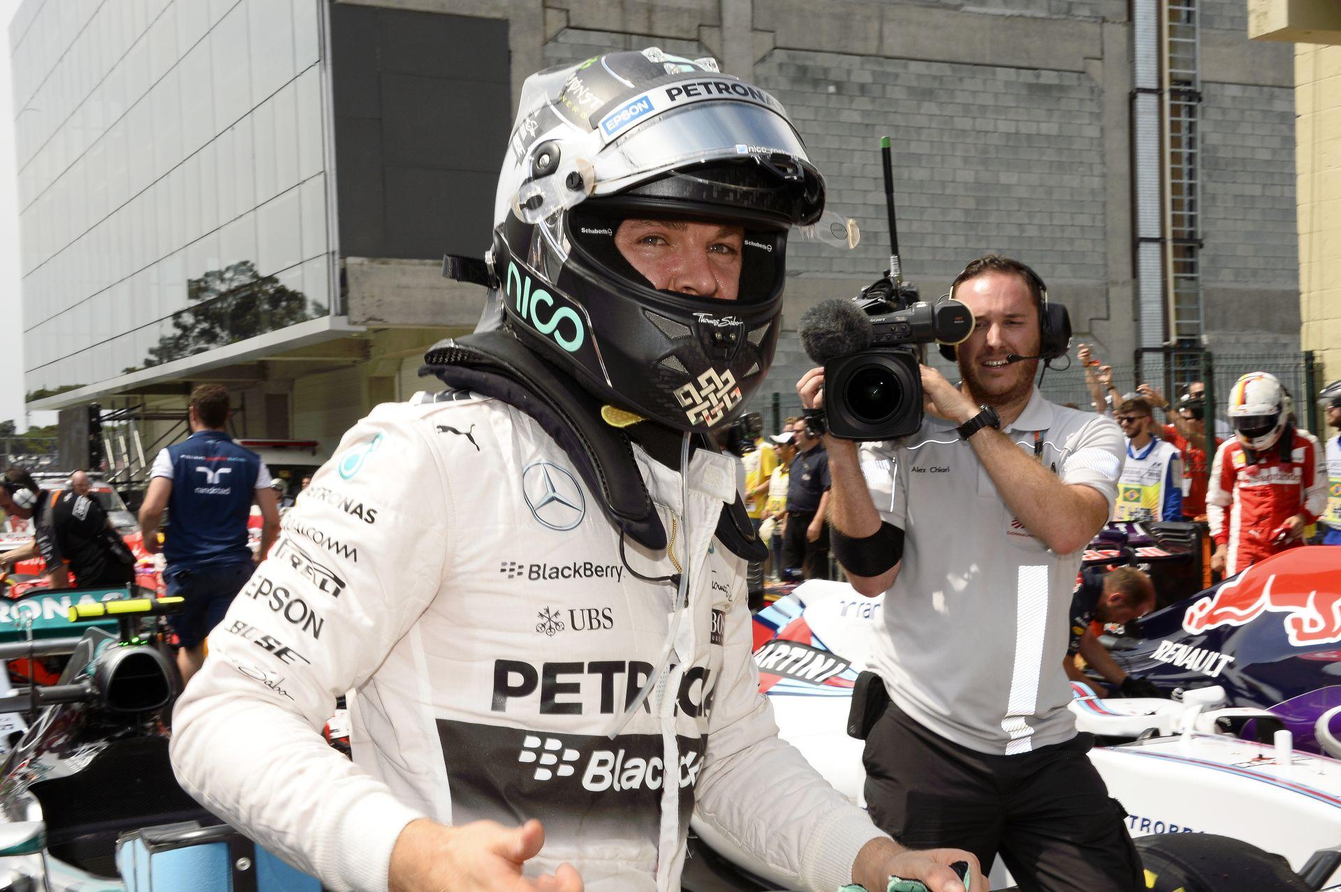 Rosberg nyerte a rettentően UNALMAS Brazil Nagydíjat Hamilton és Vettel előtt: Raikkönen 4.