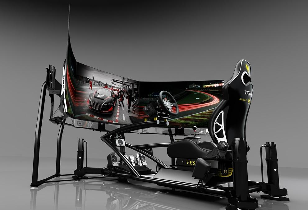 Egy ilyen szimulátorral nevetve ki lehetne bírni az F1-es szünetet