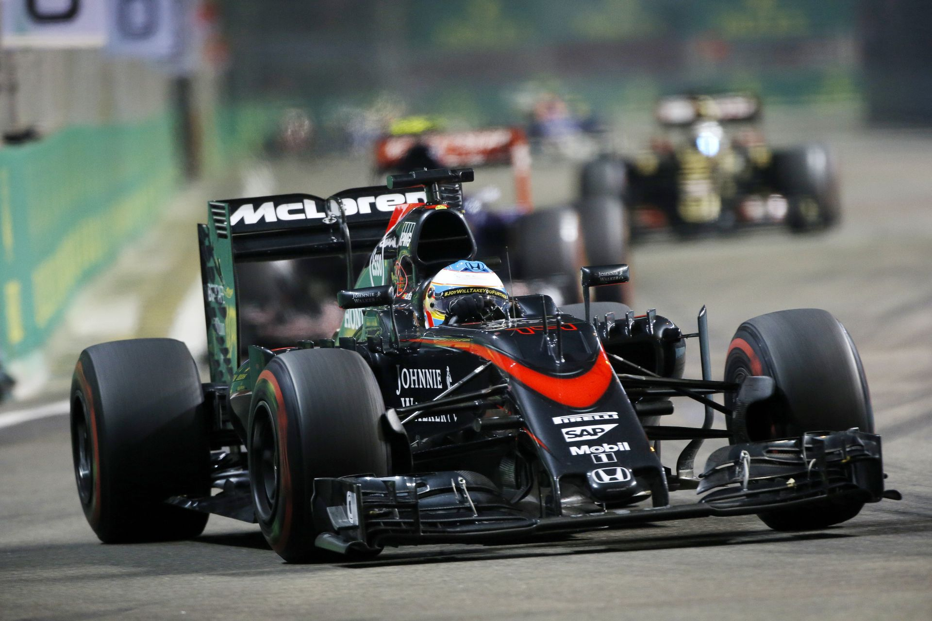 Körönként 2 másodperccel lassabb a McLaren a Honda miatt