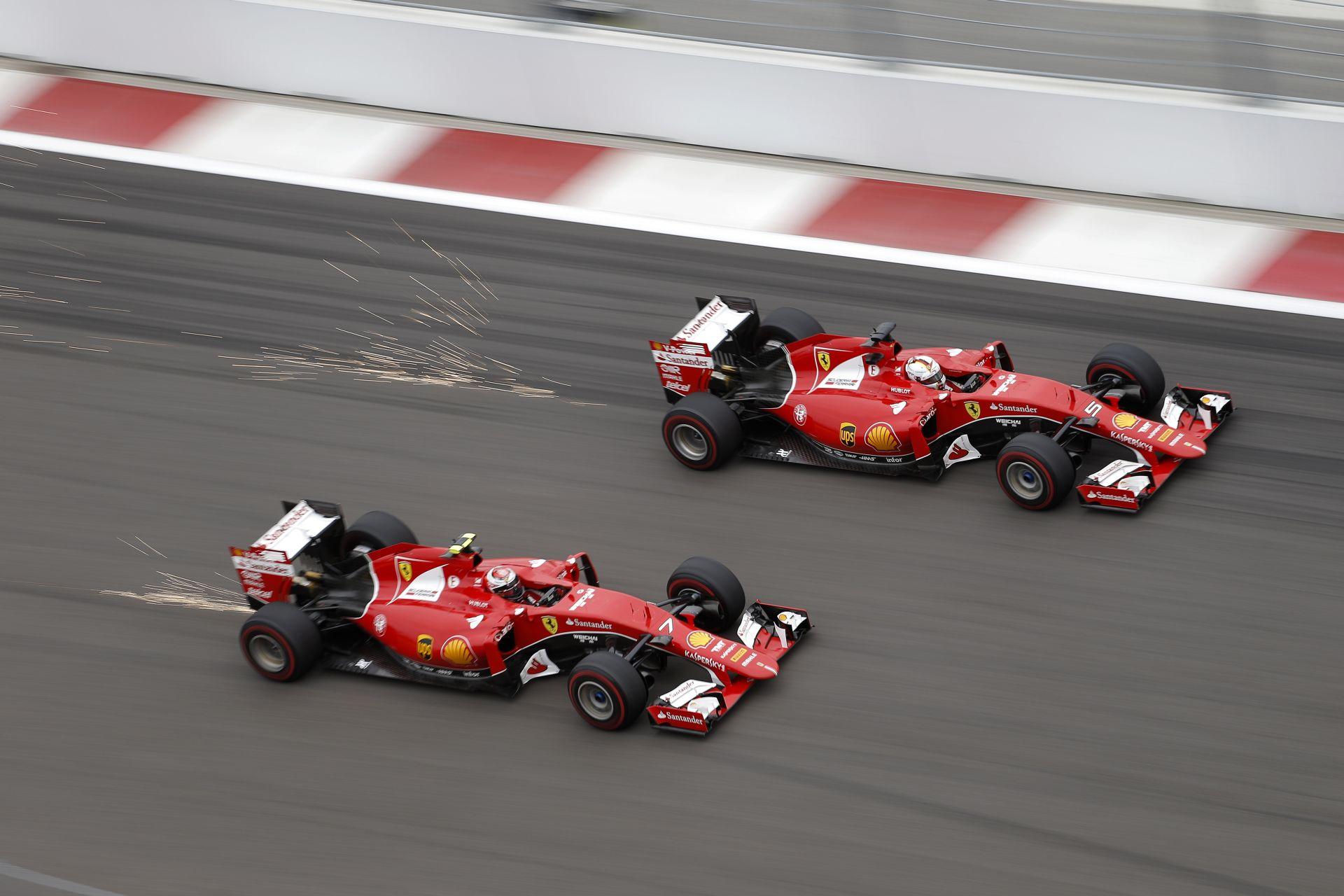 Raikkönen újabb parádés rádióbeszélgetése a Ferrarival: Orosz Nagydíj