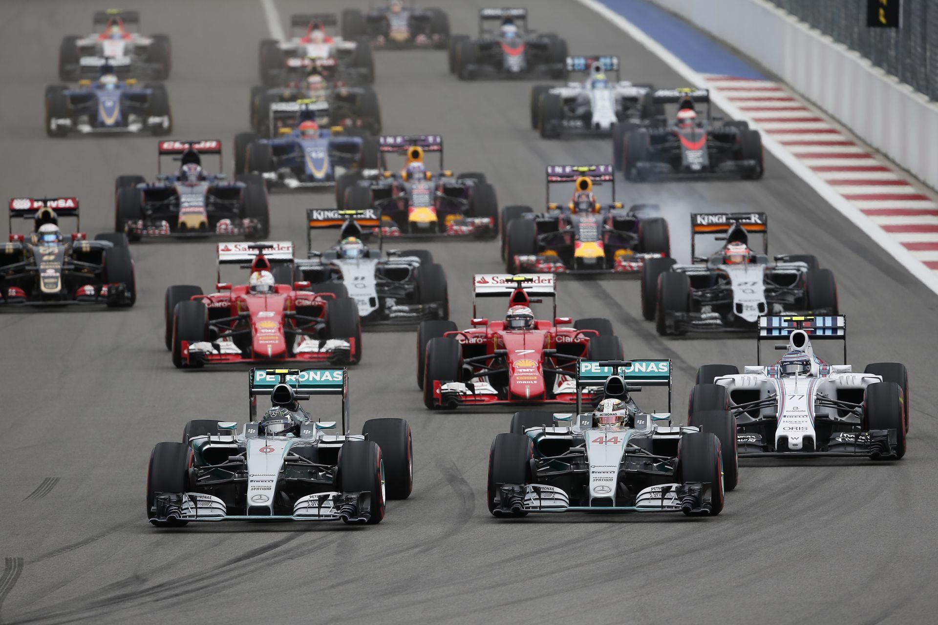 Orosz Nagydíj: 10/9 pontszerző csapat, 50% körüli dobogós arány Hamilton és Vettel neve mellett!