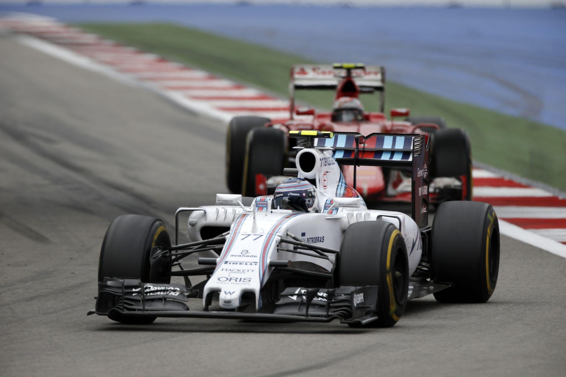 Austinban Bottas és Räikkönen esete már a múlté lesz!