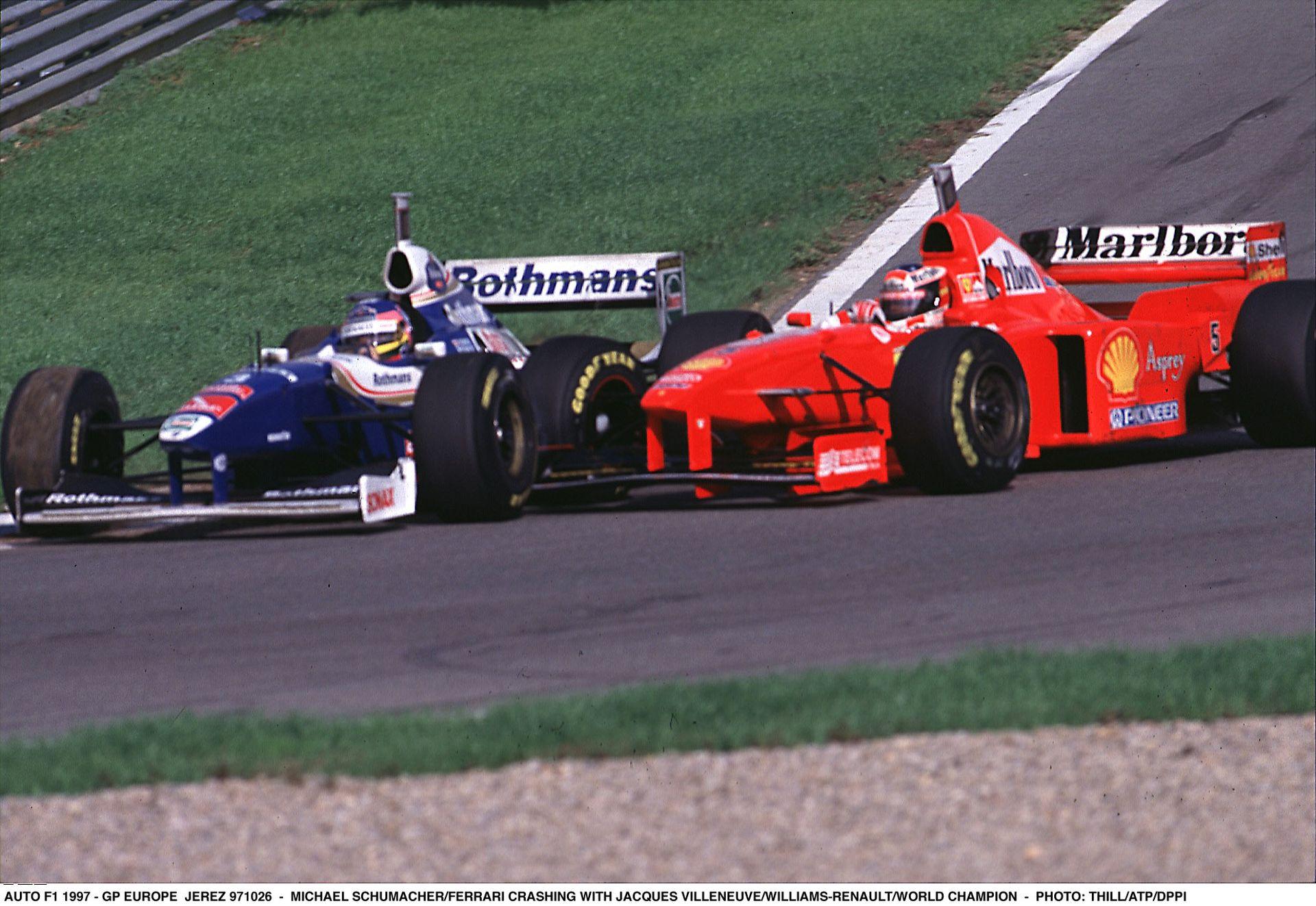 1997-ben Villeneuve éppen ezen a napon lett világbajnok: Schumacher legendás balesete