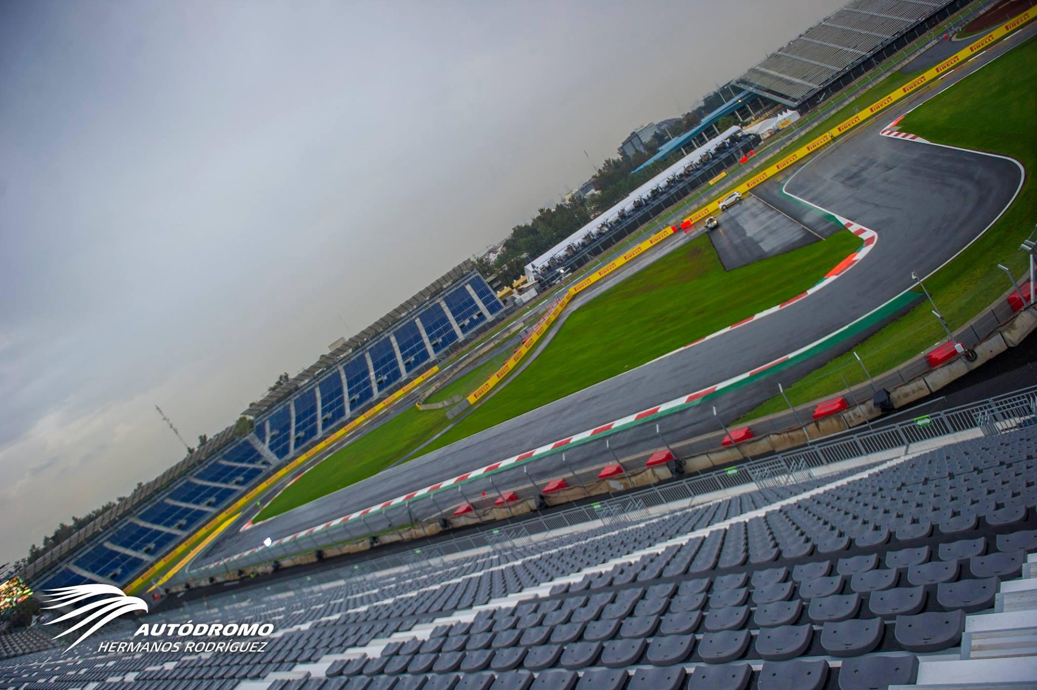 Már áll a víz az új F1-es mexikói versenypályán: több mint 100 kép a helyszínről
