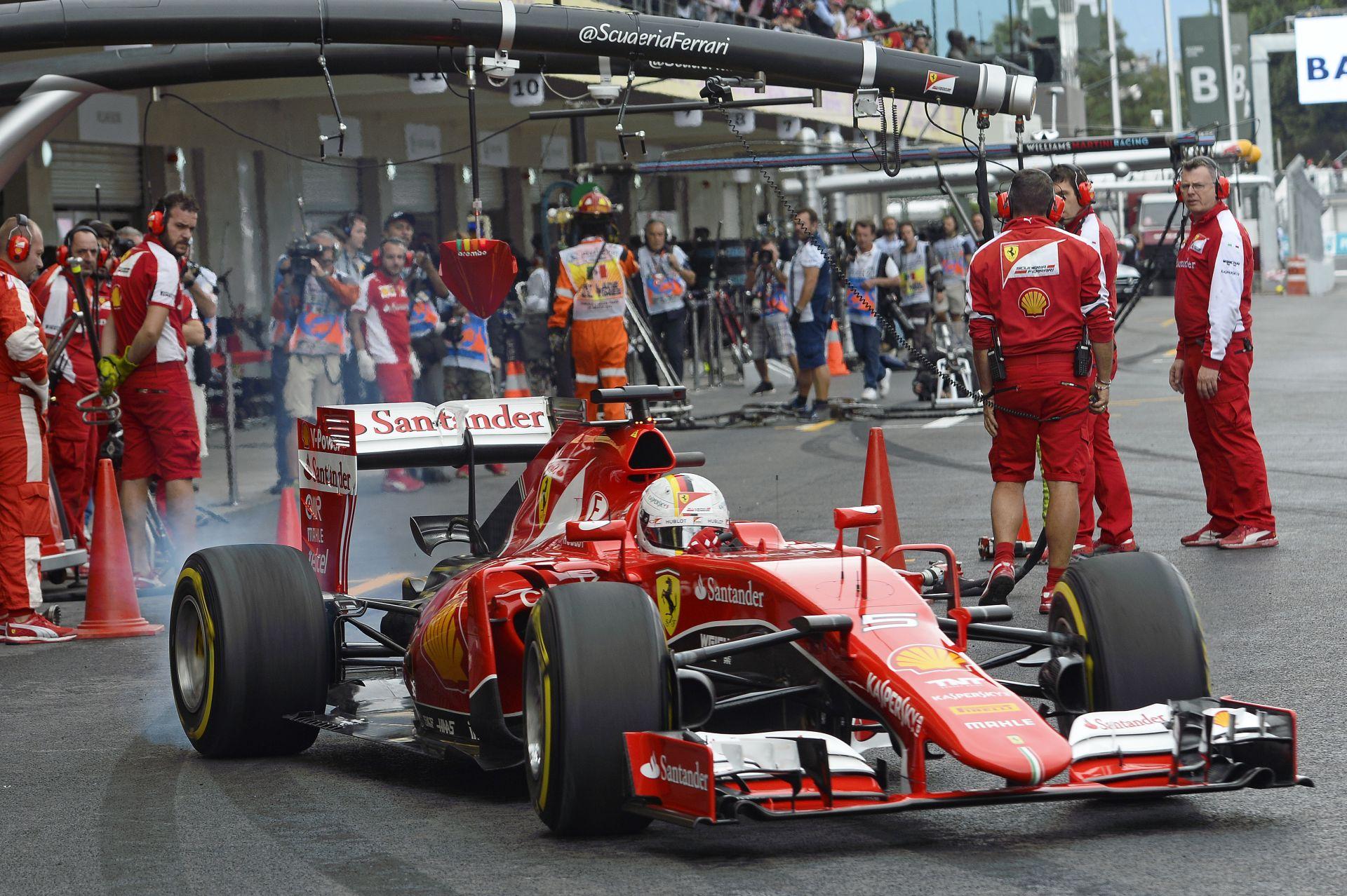 Vettel szerint ma a Mercedes megfoghatatlan volt Mexikóban