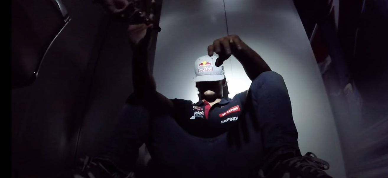 Így bolondoznak Szingapúr előtt a Toro Rosso újonc versenyzői