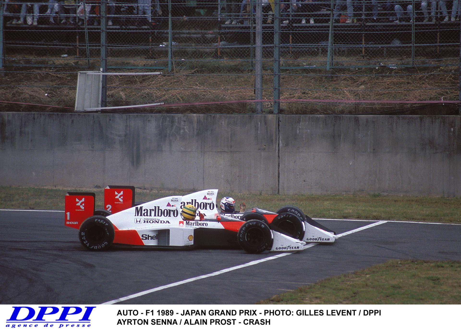 Ayrton Senna és Alain Prost legendás ütközése – 1989! Japán Nagydíj