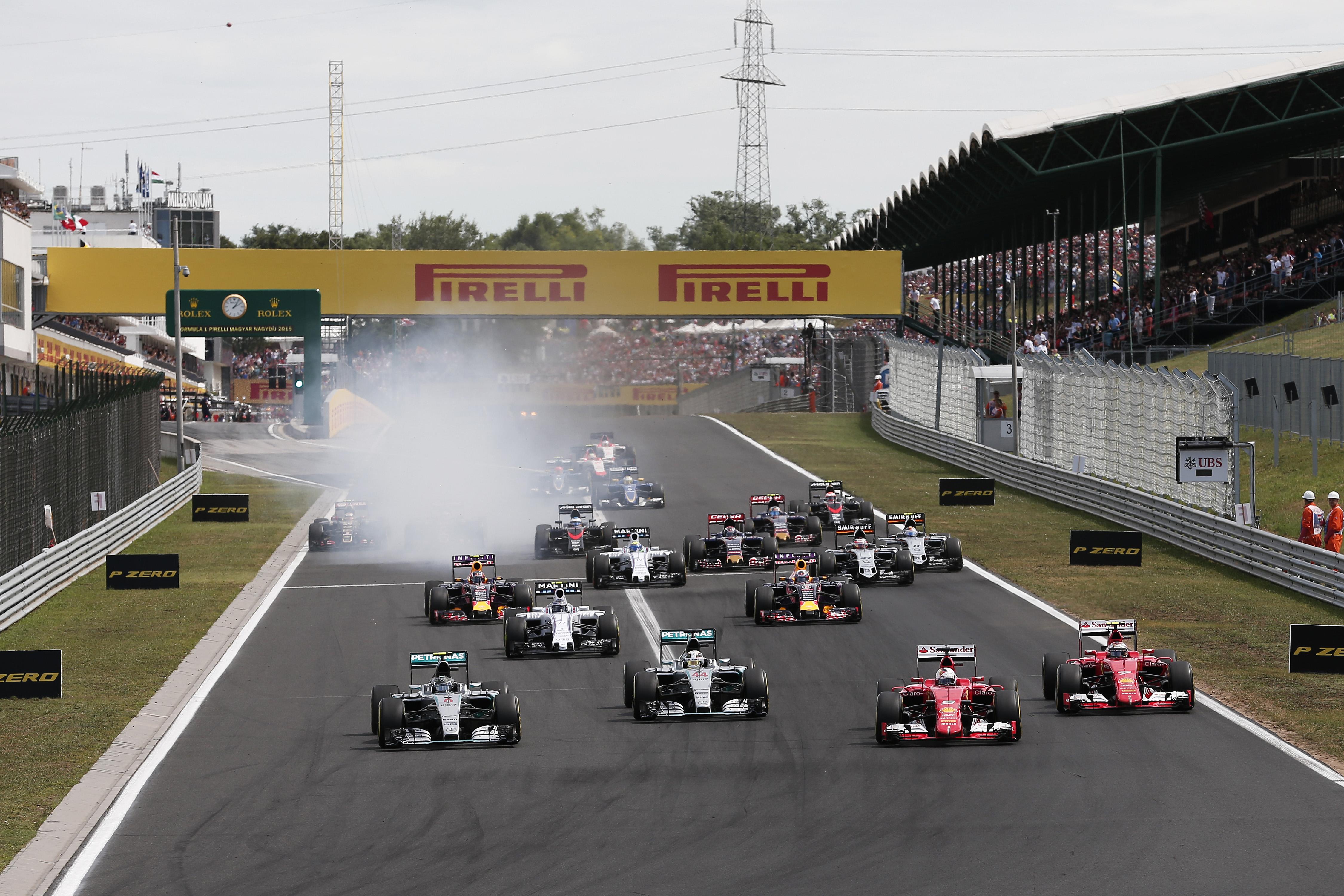 Egy nagyszerű hír a Hungaroringről: megkezdődtek a renoválási munkálatok az F1-es helyszínen