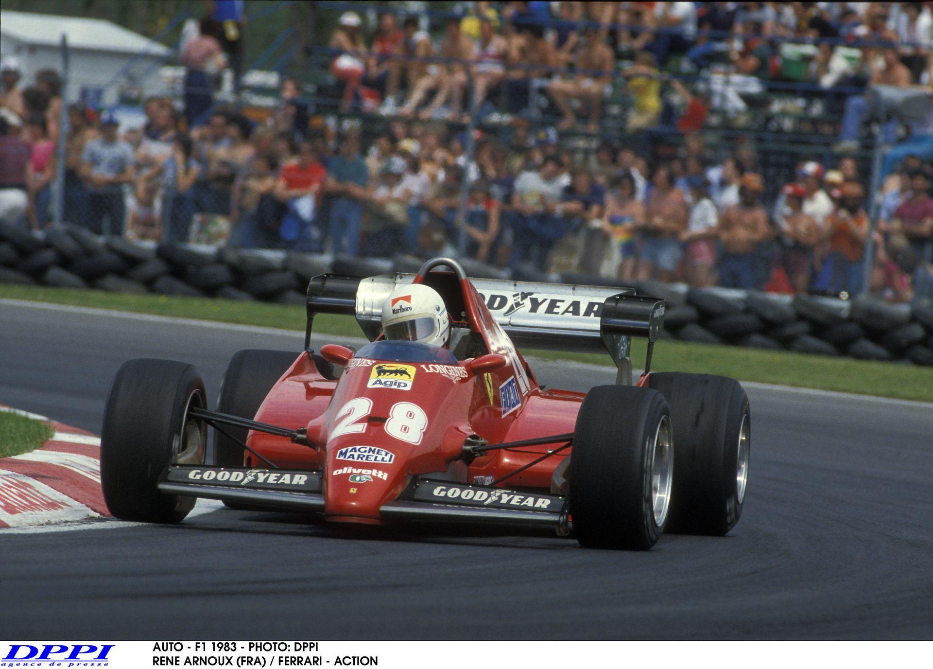 Brutális fölényes Ferrari-győzelem a Forma-1-ben: 1983. augusztus 7.