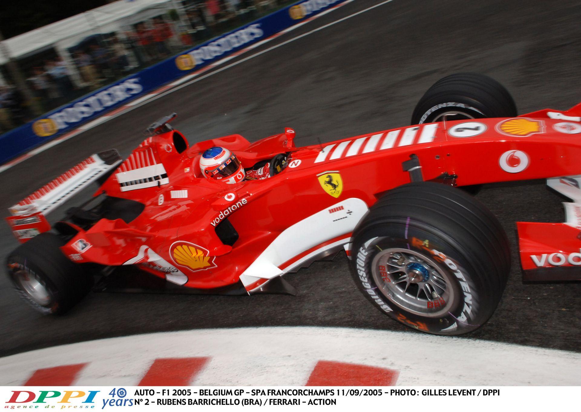 Nézed és nem igazán akarsz hinni a szemeidnek és a füleidnek: Barrichello a Ferrarival Spa-ban