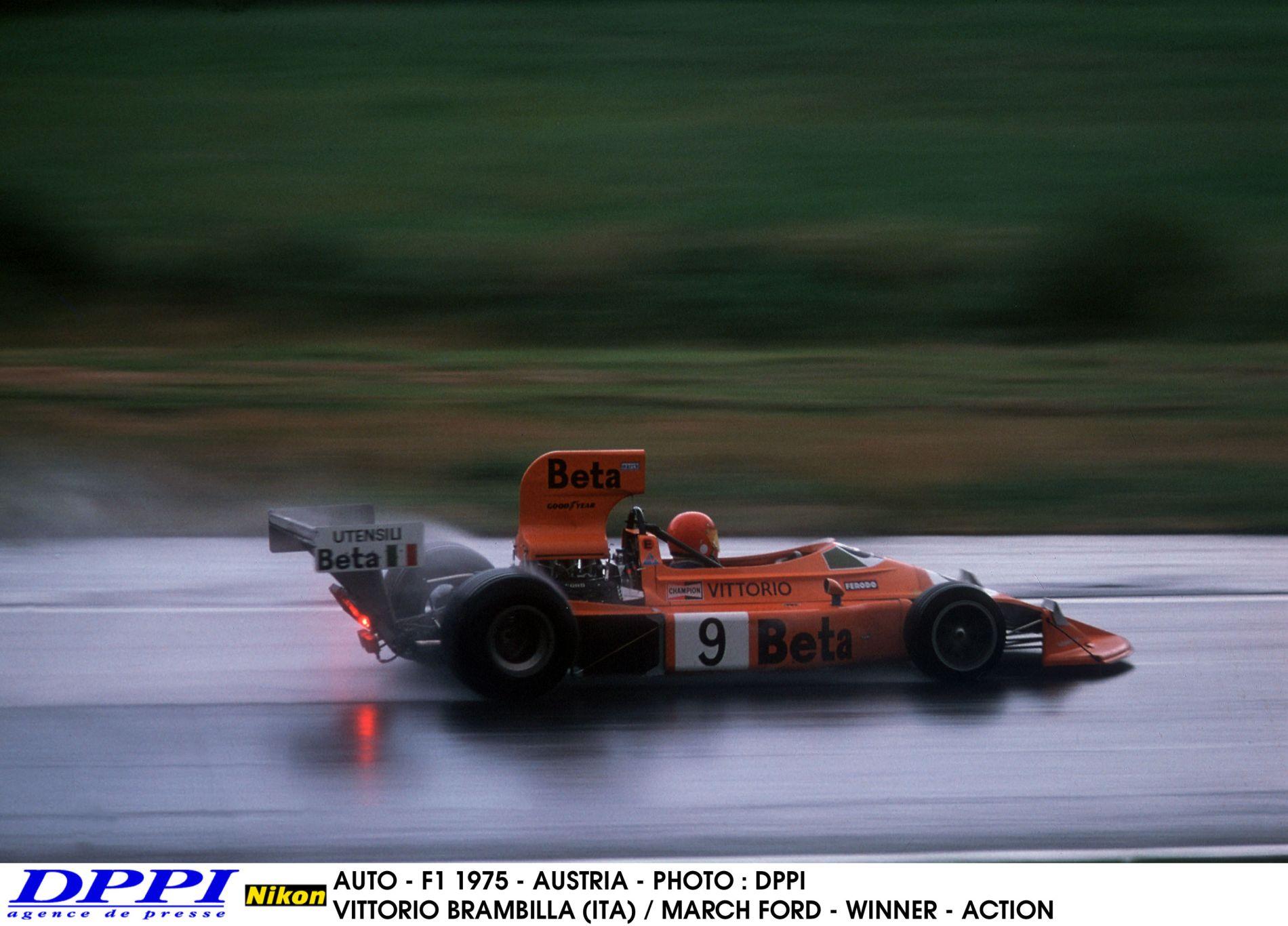 """40 éve nyerte meg első és egyetlen F1-es versenyét Vittorio Brambilla, a """"kiesések királya"""""""