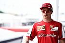 Kimi már egy ideje tudja, hogy a Ferrarinál maradhat!